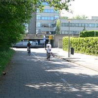 05 Merel met fietsers